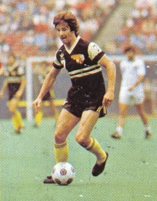 NASL Soccer Chicago Sting 82 Road Gordon Hill
