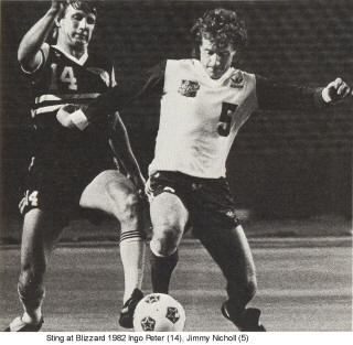 NASL Soccer Chicago Sting 82 Road Ingo Peter (2)