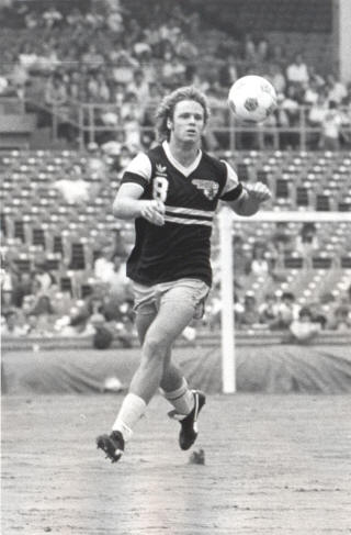 NASL Soccer Chicago Sting 82 Road Rudy Glenn 2