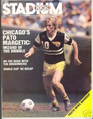 NASL Soccer Chicago Sting 83 Road Pato Margetic (1)