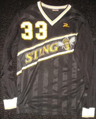 Sting 84-85 Home Jersey Eric Geyer