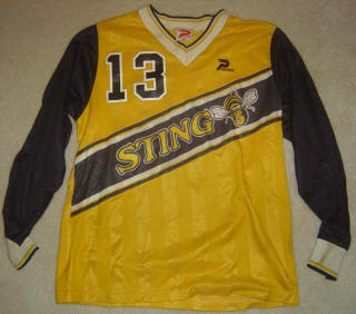 Sting 84-85+ Road Jersey Neill Roberts
