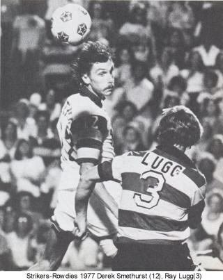 NASL Soccer Ft. Lauderdale Strikers 77 Road Back Ray Lugg
