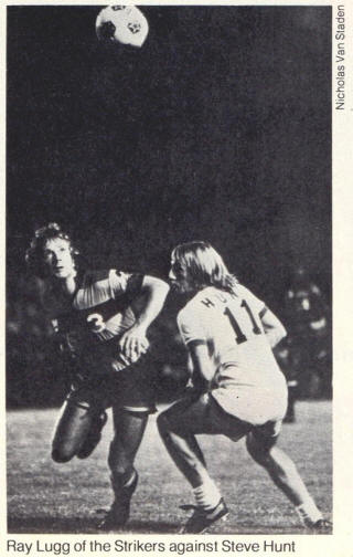 NASL Soccer Ft. Lauderdale Strikers 77 Road Ray Lugg