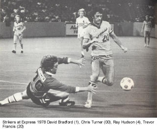 NASL Soccer Ft. Lauderdale Strikers 78 Goalie Back Ian Turner