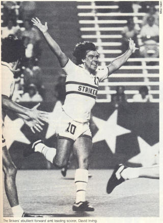 NASL Soccer Ft. Lauderdale Strikers 78 Home David Irving