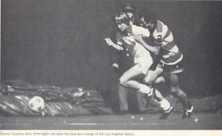 NASL Soccer Ft. Lauderdale Strikers 78 Road Back Maurice Whittle