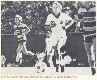 NASL Soccer Ft. Lauderdale Strikers 78 Road Maurice Whittle 2