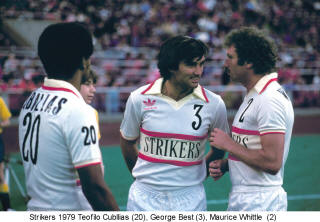 NASL Soccer Ft. Lauderdale Strikers 79 Home Teofilo Cubillas, Best, Whittle