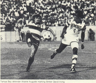 NASL Soccer Ft. Lauderdale Strikers 79 Road David Irving