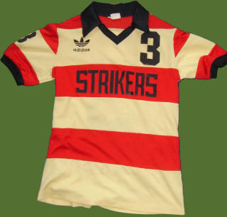 NASL Soccer Ft. Lauderdale Strikers 79 Road Jersey George Best