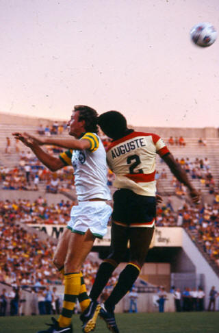 NASL Soccer Ft. Lauderdale Strikers 80 Road Back Arsene Auguste 4