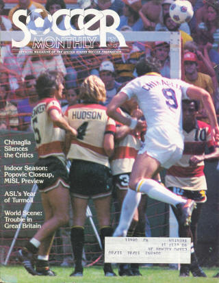 NASL Soccer Ft. Lauderdale Strikers 80 Road Back Ray Hudson 2