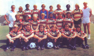 NASL Soccer Ft. Lauderdale Strikers 80 Road Team