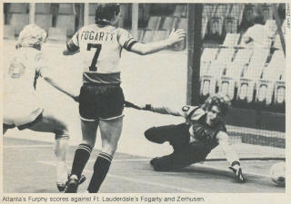 Strikers 80-81 Indoor Road Back Ken Fogarty, Chiefs