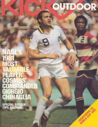 NASL Soccer Ft. Lauderdale Strikers 81 Road Arsene Auguste