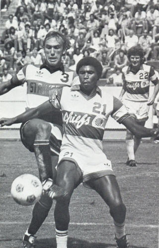 NASL Soccer Ft. Lauderdale Strikers 81 Road John Pot