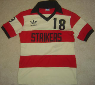 NASL Soccer Ft. Lauderdale Strikers 81-83 Road Jersey Robert Meschbach