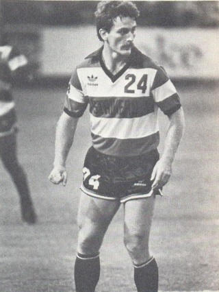 NASL Soccer Ft. Lauderdale Strikers 82 Road Bob Bolitho