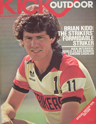 NASL Soccer Ft. Lauderdale Strikers 82 Road Brian Kidd