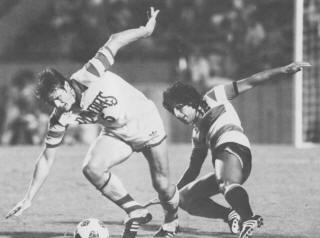 Ft. Lauderdale Strikers 1982 Road Ruben Morales, Rowdies