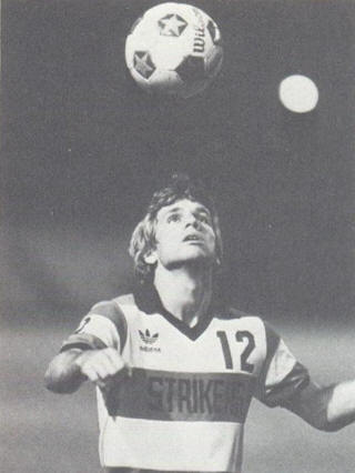 NASL Soccer Ft. Lauderdale Strikers 83 Road Carl Strong