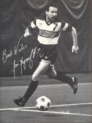 Minnesota Strikers 1984 Road Ken Fogarty