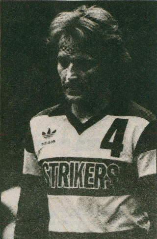 Strikers 84-85 Home Alan Hudson