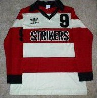 Strikers 84-85 Home Jersey Alan Willey