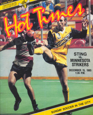 Strikers 84-85 Home Mike Jeffries 2