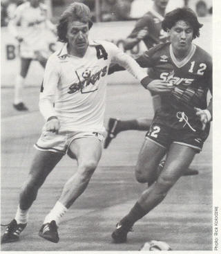 Strikers 84-85 Road Ray Hudson, Stars