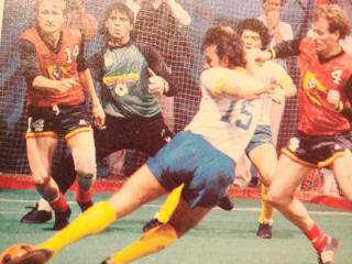 Strikers 85-86 Home Etherington, Lettieri, Sockers