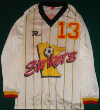Strikers 85-86 Road Jersey Stan Cummins
