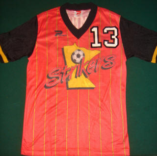 Strikers 86-87 Home Jersey Stan Cummins
