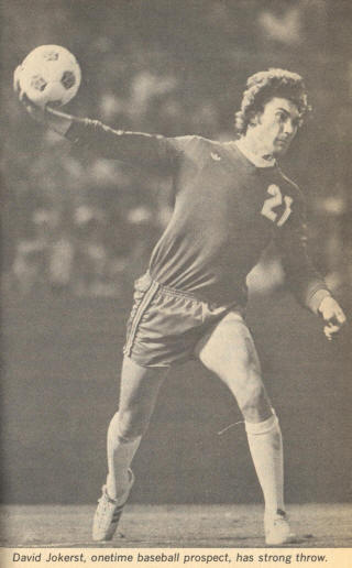 NASL Soccer California Surf 78 Goalie David Jokerst