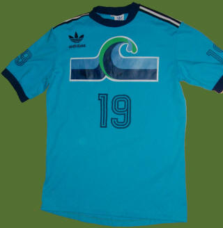 NASL Soccer California Surf 79 Road Jersey Len Renery