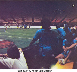 NASL Soccer California Surf 79-80 Indoor Road Back Mark Lndsay