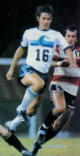 NASL Soccer California Surf 80 Home Craig Allen, Strikers