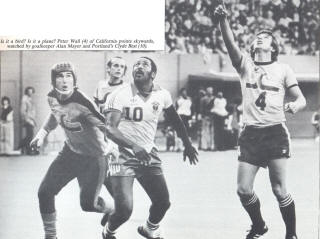NASL Soccer California Surf 80 Road Peter Wall