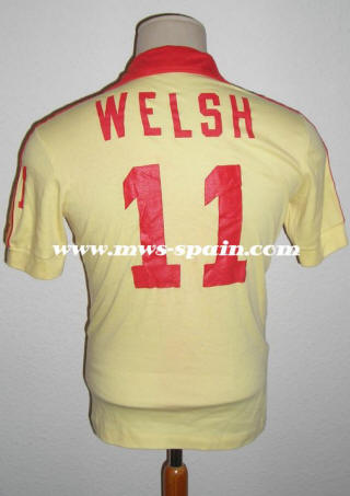 New England Tea Men 78 Road Jersey Kevin Welsh Back