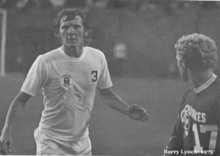 NASL Soccer Portland Timbers 75 Home Barry Lynch