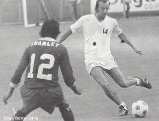 NASL Soccer Portland Timbers 75 Home Tony Betts