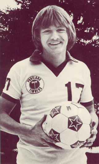 NASL Soccer Portland Timbers 78 Home Mike Flater
