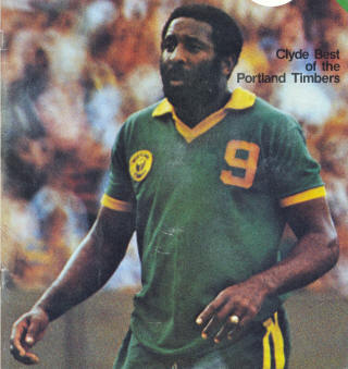 NASL Soccer Portland Timbers 78 Road Clyde Best