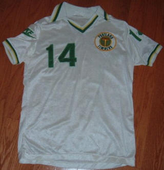 Timbers 79 Home Jersey Bruce Gant