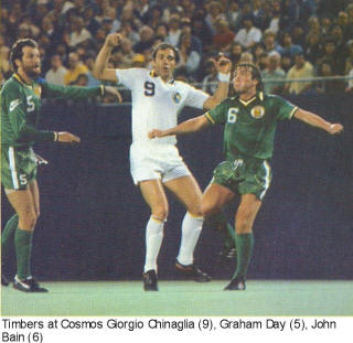 NASL Soccer Portland Timbers 79 Road Graham Day
