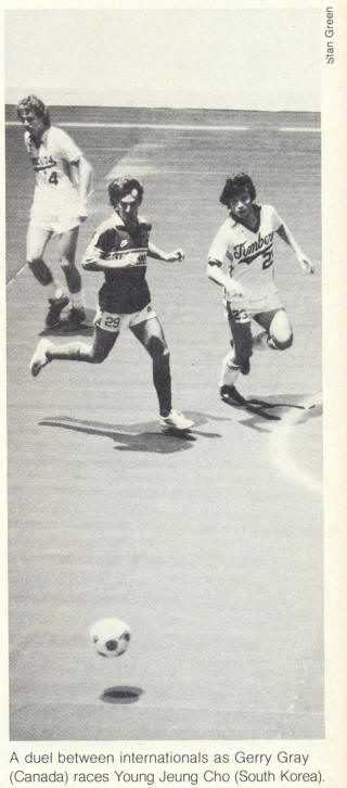 NASL Soccer Portland Timbers 81-82 Indoor Home Young Jeung Cho