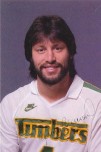 NASL Soccer Portland Timbers 82 Head Gary Collier