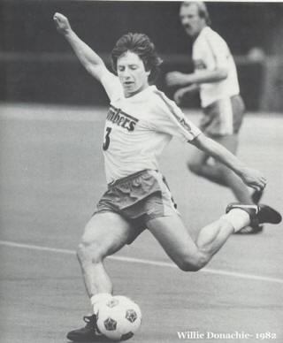 NASL Soccer Portland Timbers 82 Home Willie Donachie
