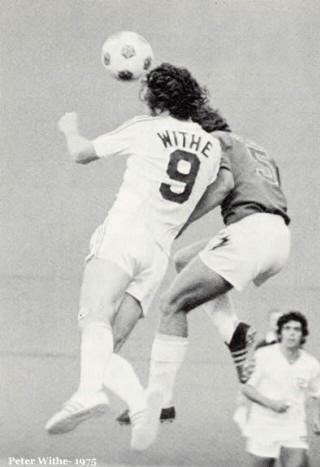 NASL Soccer Portland Timbers 75 home back peter withe